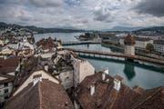 Laut einer Studie der Grossbank Credit Suisse wird der Kanton Luzern durch die AHV-Steuerreform an Wettbewerbsfähigkeit einbüssen. (Bild: Pius Amrein)