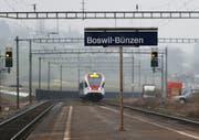Bahnhof Boswil Bünzen im Freiamt. (Bild: Stefan Kaiser)