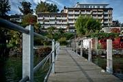 Das Hotel «Graziella» im Weggiser Ortsteil Hertenstein. (Bild: Pius Amrein (21. Oktober 2013))