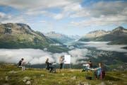 Studieren, wo andere Ferien machen. An der HFT Graubünden ist das möglich. (Bild: PD)