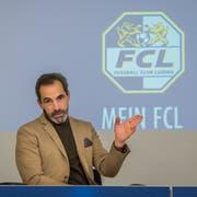 Ex-Chelsea Torhütertrainer Christophe Lollichon, der am FCL-Projekt beteiligt ist. (Bild: Boris Bürgisser/LZ (Luzern, 15. November 2018))