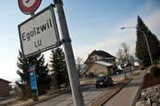 Die Gemeinde Egolzwil steht mindestens vier Monate ohne Gemeindepräsidenten da. (Bild: Boris Bürgisser)