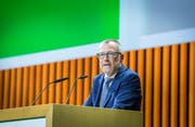 Heinz Huber leaves the Thurgauska canton bank. (Picture: Andrea Stalder)