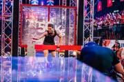 Der finale Parcours war der härteste Hindernislauf der Sendung. Bisher hat ihn in Europa noch niemand beenden können. (Bild: TV24)