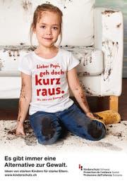 Die Kampagne von Kinderschutz Schweiz will Eltern sensibilisieren. (Bild: PD)