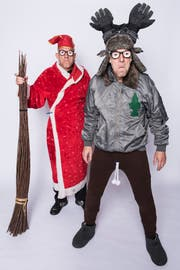 Volker und Thomas Martins alias Oropax treten am 7. Dezember in Wil auf. (Bild: PD)