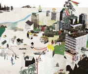 Wie sieht die Stadt in 30 Jahren aus? In der aktuellen Ausgabe wagt die Hochparterre-Redaktion einen Blick in die Zukunft. (Bild: Corinna Staffe)