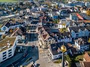 Der Dorfkern von Hochdorf. (Bild: Pius Amrein, 7. November 2018)