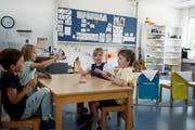 Der Kindergarten in Sarnen. (Bild: Corinne Glanzmann, 26. Juni 2018)