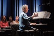 Pianist Chick Corea zu Gast in Schaan: Jung geblieben und immer noch der begeisternde, agile Alleskönner am Flügel. (Bild: Michel Canonica)