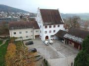 Liegenschaft Schloss am Hofplatz: Sitz der Technischen Gemeindebetriebe Bischofszell. (Bild: Manuel Nagel)