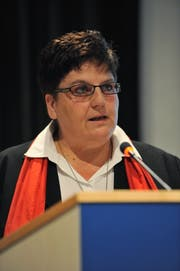 Gemeindepräsidentin Yvonne Baumann war zurück getreten. (Bild: Urs Hanhart)