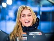 Therese Johaug hat allen Grund zum Lächeln: Sieg bei der Rückkehr nach der Dopingsperre. (Bild: KEYSTONE/EPA COMPIC/KIMMO BRANDT)