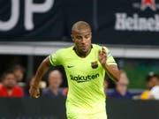 Barcelonas Rafinha verletzte sich erneut schwer am Knie (Bild: KEYSTONE/FR171389 AP/MICHAEL AINSWORTH)