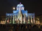Grosser Erfolg für den kleinen Prinzen: 590'000 Personen kamen dieses Jahr zum «Rendez-vous Bundesplatz» (KEYSTONE/Lukas Lehmann) (Bild: Keystone/LUKAS LEHMANN)