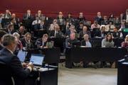 Der Luzerner Kantonsrat befasst sich demnächst mit den finanziellen Perspektiven des Kantons Luzern. (Bild: Nadia Schärli, 22. Oktober 2018)