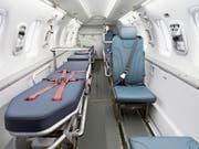 Blick in das Innere des PC-24-Jets in der Ambulanz-Version. (Bild: Pilatus/PD)