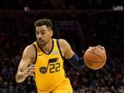 Thabo Sefolosha bricht den (persönlichen) Bann und verhilft Utah Jazz zu einem Heimsieg über die Sacramento Kings (Bild: KEYSTONE/FR170982 AP/CHRIS SZAGOLA)