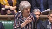 Theresa May am Montag im House of Commons. (Bild: AP (London, 26. November 2018))