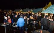 Der Weihnachtsmarkt in Tobel zog wiederum Hunderte Besucher an. (Bilder: Christoph Heer)