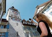 Auch der Zytturm hätte vermehrt von Individualtouristen aus aller Welt fotografiert werden sollen. (Bild: Stefan Kaiser (Zug, 2012))