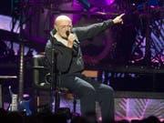 Phil Collins spielt auf seiner Tour 2019 auch im Zürcher Letzigrund. Das Konzert ist für den 18. Juni angesagt. (Bild: Keystone/AP Invision/OWEN SWEENEY)