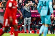 Steht Niko Kovac am Dienstag zum letzten Mal bei Bayern an der Seitenlinie? (Bild: AP Photo/Matthias Schrader/AP (München, 3. November 2018))