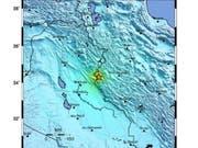 Bei einem schweren Erdbeben im Westen Irans sind am Sonntag über 700 Menschen verletzt worden. (Bild: KEYSTONE/EPA USGS/USGS / HANDOUT)
