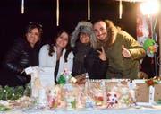 Sowohl Marktstand-Betreiber als auch Besucher hatten ihre Freude am Tobler Weihnachtsmarkt.