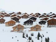 Gut gebucht: Die Vermieter von Ferienwohnungen melden höheren Buchungsstand für die Wintersaison als im Vorjahr. (Bild: KEYSTONE/MAXIME SCHMID)