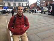 Peter Stäuber in seiner Wahlheimat London: «Das Leben in der Grossstadt ist hektisch, aber auch erstaunlich entspannt.» (Bild: pd)