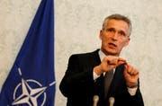 Nato-Generalsekretär Stoltenberg setzt mit der Einberufung einer Sondersitzung ein symbolisches Zeichen (Archivbild: epa/epa)