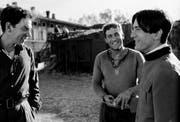 Donald Sutherland, Gerard Depardieu und Robert de Niro in Bertoluccis Bauern- und Klassenkampf-Epos «1900». (Bild: Imago)