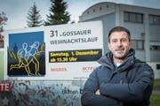 OK-Präsident Pitsch Bernhardsgrütter organisiert den Gossauer Weihnachtslauf seit 2014. (Bild: Urs Bucher)