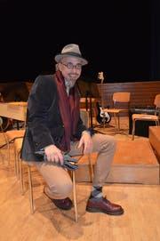 Seine Stimme wollte nicht mehr: Rankl wechselte vom Sänger zum Oberstufenlehrer. (Bild: Zita Meienhofer)