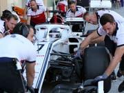 Kimi Räikkönen behält seine Startnummer 7 auch im Sauber-Team (Bild: KEYSTONE/AP/KAMRAN JEBREILI)