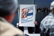 Das Eidgenössische hat schon neun Monate vor der Durchführung Auswirkungen auf andere Anlässe. (Bild: Stefan Kaiser (Zug, 14. November 2016)