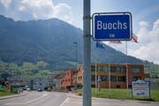 Der Dorfeingang von Buochs aus Richtung Ennetbürgen. (Corinne Glanzmann, 17. Juli 2018)
