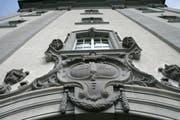 Blick auf das Regierungsgebäude des Kantons St.Gallen. (Bild: Ralph Ribi)
