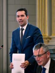«Keine Verlierer»: SVP-Fraktionschef Michael Götte. (Bild: Regina Kühne)