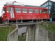 Der Zahnrad-Triebwagen wurde über die Jahre mehrmals revidiert. (Bild: Peter Eggenberger)