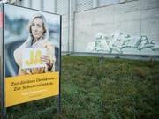 Die Kampagne der SVP war für viele Stimmende nicht glaubwürdig. (Bild: KEYSTONE/PETER SCHNEIDER)