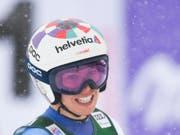 Michelle Gisin ist im ersten Training von Lake Louise die schnellste Schweizerin (Bild: KEYSTONE/GIAN EHRENZELLER)