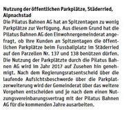 So informierte der Gemeinderat im« Blettli» im Juli 2017.