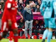 Steht Niko Kovac am Dienstag gegen Benfica Lissabon zum letzten Mal bei Bayern München an der Seitenlinie? (Bild: KEYSTONE/AP/MATTHIAS SCHRADER)