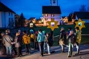 Der Adventskalender in Häggenschwil fällt dieses Jahr aus. (Bild: Coralie Wenger, 12. Dezember 2014)