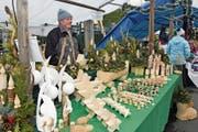 Am Weihnachtsmarkt im Sarner Dorfkern wurde ein reichhaltiges Angebot präsentiert. (Bild: Robert Hess (Sarnen, 28. November 2018))