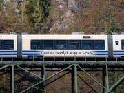 Die Centovalli-Bahn bekommt neue Züge. (Bild: KEYSTONE/TI-PRESS/PABLO GIANINAZZI)