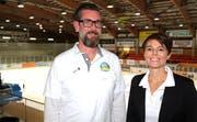 EHC-Präsident und -Vizepräsidentin: Philipp Herzog und Leila Saladin.
