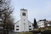 Die katholische Kirche Gähwil bedurfte einer Aussenrenovation. (Bild: Urs Hemm)